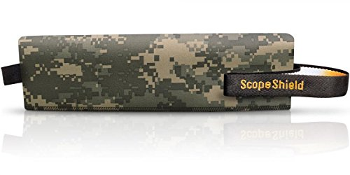 ScopeShield Neoprene Scope Cover Digital Gray Camouflage