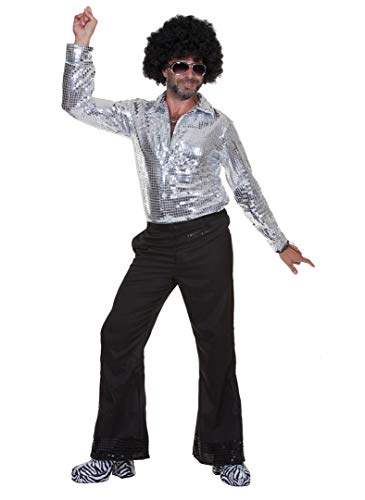 Oya Costumes Disco Ball Shirt - Size Medium -