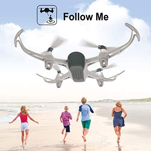Cheerwing W1PRO GPS Drone with 1080P Camera for Adults, Quadcopter with Brushless Motor, Auto Return Home, Follow Me, Gesture Control, Long Flight Time 41oJH8K8JKL
