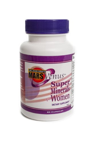 John Gray's Mars Venus Super Minerals for Women Orotic Acid
