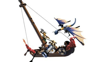 LEGO Vikings Set #7016 Viking Boat Against the Wyvern Dragon, Baby & Kids Zone
