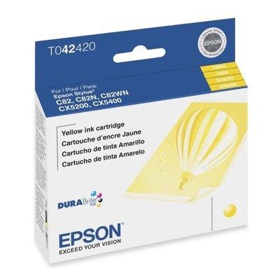 Epson T042420 Yellow Ink Cartridge for (C82 Printer Cartridge)