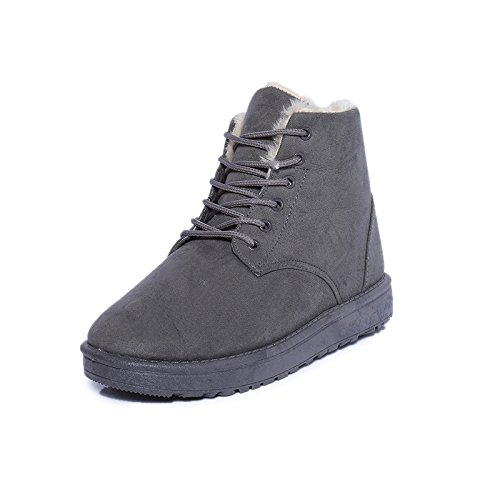 Grey Winter Winter Boots Boots RxzIPq