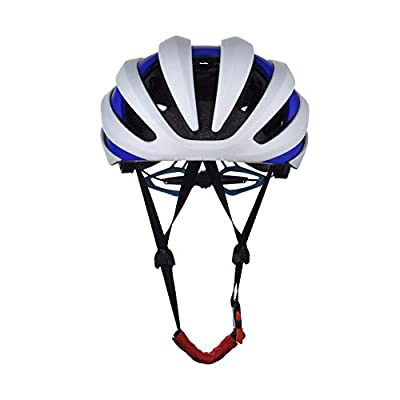 LED Smart Bluetooth Helmet Riding Equipment Outdoor Hard Hat Bicycle Equipment-bulewhite-L(54-62cm) : Sports & Outdoors
