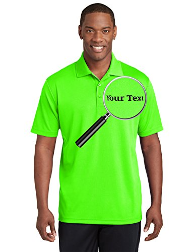 Embroidered Custom Sweatshirt - Custom Embroidered Performance Polo Shirts - Personalized Collar Embroidery Tees