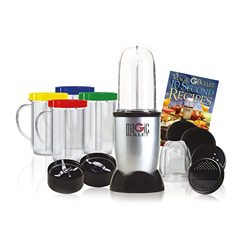 NUTRiBULLET Magic Bullet Blender, Mixer & Food Processor, 17 piece set