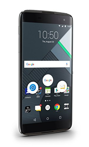 New Blackberry Unlocked Phone - Blackberry DTEK50 - Android Touch Screen Smartphone Cellphone, Black, 16GB, US Warranty