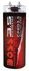 3.5F CAPACITOR RED