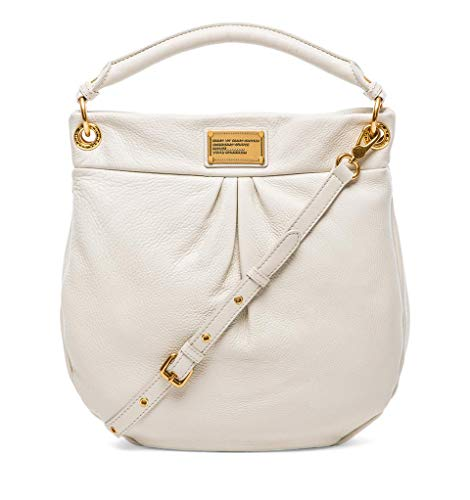 Marc Jacobs Classic Q Hillier Hobo Bag in White Birch (Marc By Marc Jacobs Classic Q Baby Groovee)
