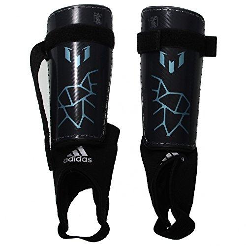 adidas Performance Messi 10 Youth Shin Guard, Night Grey/Mat