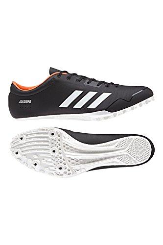 Adidas Adizero Prime Sp Chaussure De Course Core Noir, Ftwr Blanc, Orange