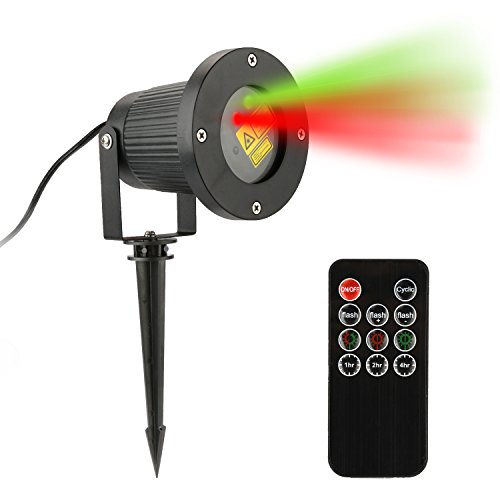 [Blimark IP65 Waterproof Laser Christmas Lights Laser Star Projector Lamp with RF Wireless Remote For Halloween,Christmas,Holiday,Party,Landscape,and Garden Lawn House] (Halloween Lighting)