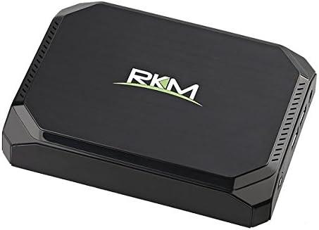 Rikomagic MK36S - Mini ordenador (Quad Core a 1.44 GHz, 2 GB de RAM, Windows 10) color negro: Amazon.es: Informática