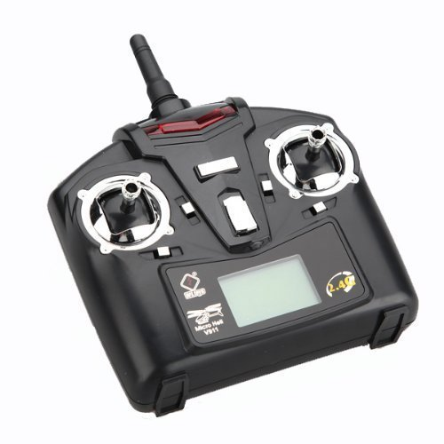 UPC 700580372725, V911 --transmitter RTF V911 4CH 4 Channel 2.4GHz Single Blade RC Radio Control Helicopter with Gyro part