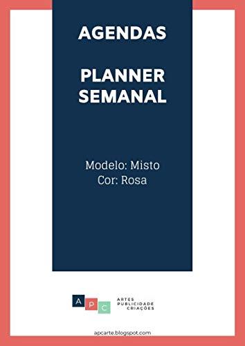 Amazon.com: Agenda / Planner Semanal: tema misto | cor rosa ...