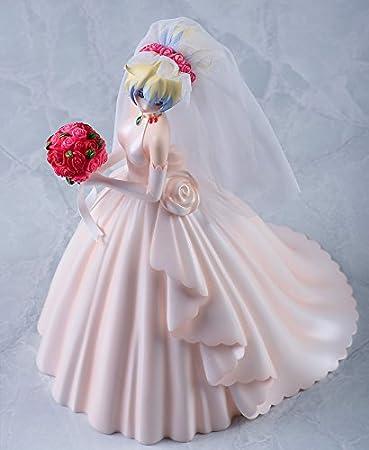 Hito Gurren Lagann: Nia Teppelin vestido de novia (versión) 1: 8 Escala Figura de vinilo: Amazon.es: Juguetes y juegos