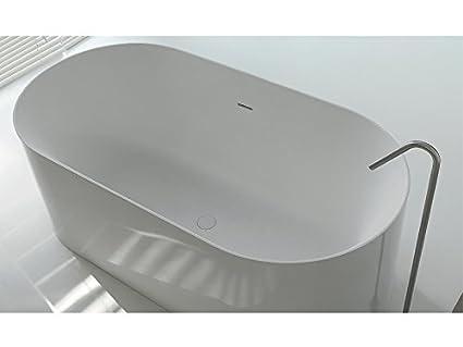 Vasca Da Bagno Bianco Opaco : Colacril atmosfere vasca da bagno dual ovale 961680: amazon.it: fai