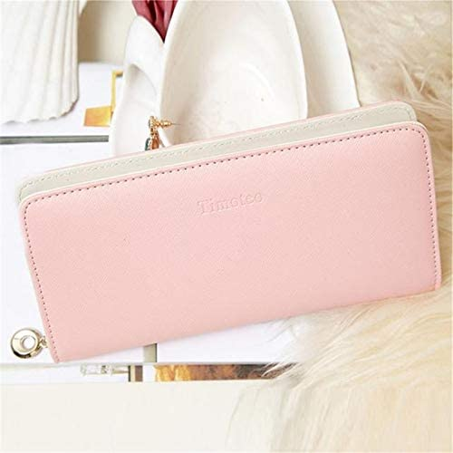 Xennos Wallets Color: Black 2019 Pu Leather Purse pochette Credit Card Bag Phone Pocket Womens Wallet Card and Coin Holder Male Clutch кошелек женский