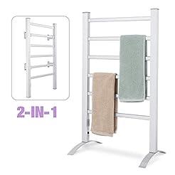 Simpleliving Towel Warmer 6 Bar 100W 2-i...