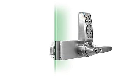 Codelocks Digital Electronic Pushbutton Right Handed Glass Door Lock