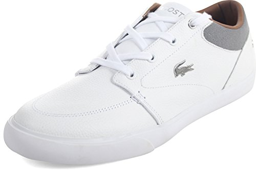 Lacoste Bayliss 118 1 U Sneaker - Wit Grijs - Heren - 10.5