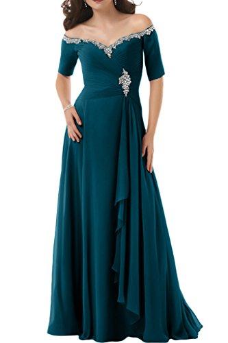 Ivydressing - Vestido - trapecio - para mujer Azul Tinta