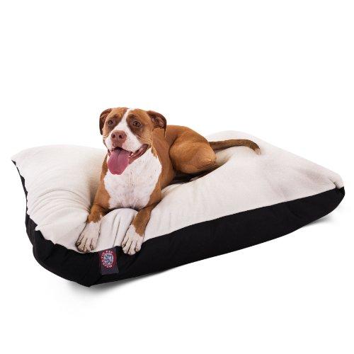 Majestic Pet Rectangle Pet Bed - Large/Black - MP-5240