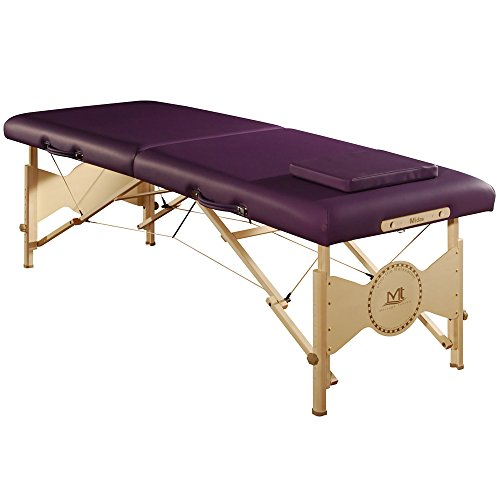 Mt massage Midas Entry 28'' Professional Portable Massage Table Package(Purple)