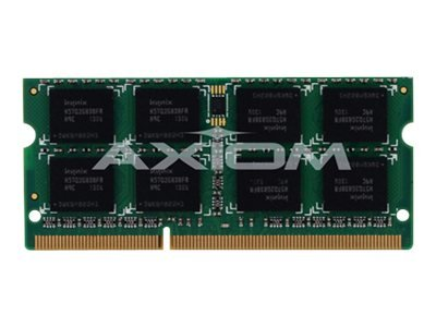 Axiom AX - DDR3-2 GB - SO-DIMM 204-pin - 1066 MHz / PC3-8500 - unbuffered - Non-ECC - for Apple Mac Mini, MacBook, MacBook Pro