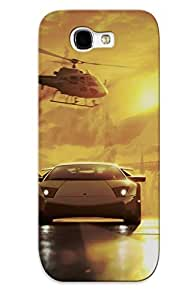 FDYkvfC1962AzrWG Tpu Phone Case With Fashionable Look For Galaxy Note 2 - Need For Speed Most Wanted Case For Christmas Day's Gift