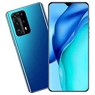 "P40pro+ Smartphone 8GB RAM + 256GB, 16MP+32MP, 5020mah Battery, Dual SIM, 6.6 ""Unlocked Android Cell Phone"
