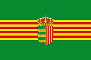 magFlags Large Flag Alquerías del Niño Perdido Les Alqueríes | landscape flag | 1.35m² | 14.5sqft | 90x150cm | 3x5ft - 100% Made in Germany - long lasting outdoor flag