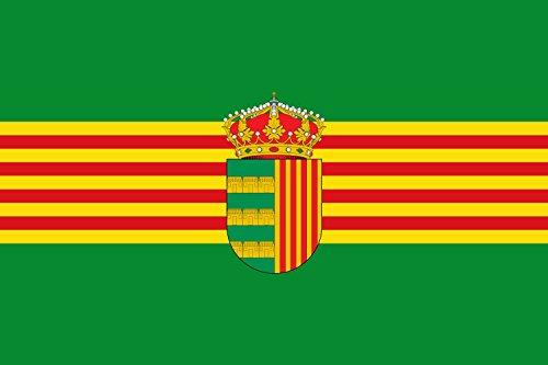 Proporciones 2 3. Primero y tercer tercio Bandera | bandera paisaje | 0.06qm | 20x30cm para Diplomat-Flags Banderas de Coche