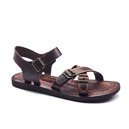8751c242e Amazon.com  Mens Leather Bodrum Sandals 1938  Handmade