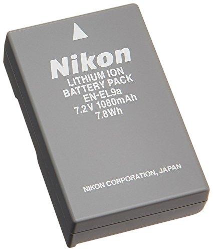 (EN-EL9 EN-EL9a EN EL9 Battery Rechargeable for Nikon D3000 D5000 D40 D50 D60 D6R1 D3X D40X SLR Cameras)