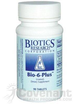 Biotics Research Bio-6-Plus (Pancreatic Ensymes) 90T - Bi...