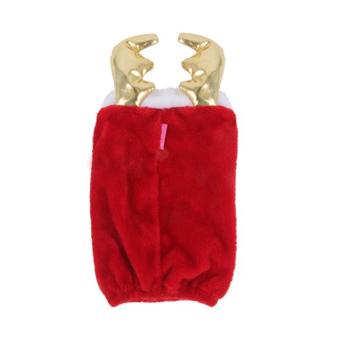 Pinkaholic New York Donner Winter Snood Pet Hat, Medium, Red by Pinkaholic New York