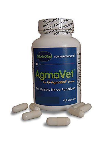 AgmaVet - For animal diet from Gilad&Gilad - The scientists who discovered Agmatine for nerve health..