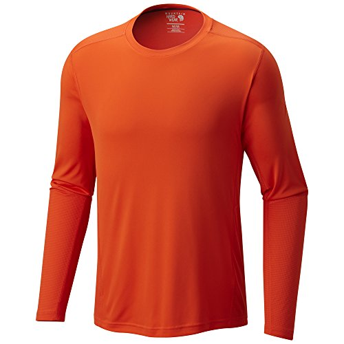 Mountain Hardwear Men's Photon Long Sleeve T-Shirt, State Orange, ()