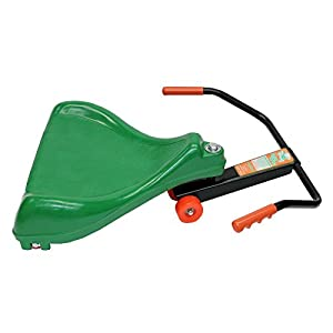 Original Flying Turtle - GREEN Ride-On Scooter - Made in USA by Mason Corporation, Ages 3 & up, Engineering Marvel, Completely Assembled and ~Top-Rated Toy~ by kids and parents