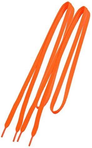 トレーナーの交換 オレンジ フラットストリング靴ひも