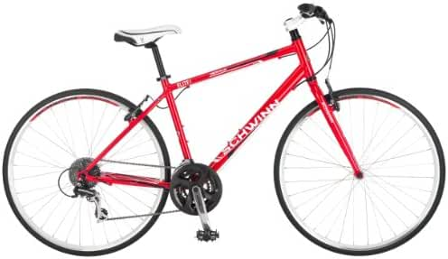 Schwinn Men's Herald 2.0 Road Bike, Red, 18-Inch/Medium