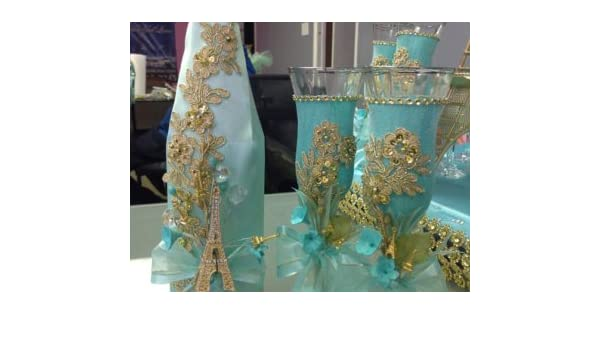 Amazon.com : Quinceañera brindis Quinceanera toasting set ...
