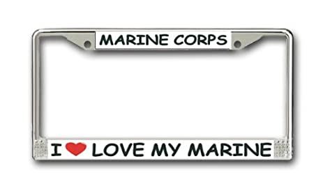 Marine Corps License Plate Frames - Best Plate 2018
