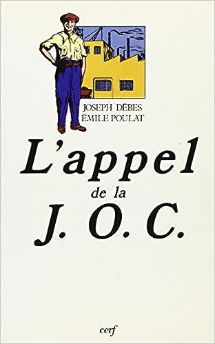 Livre gratuits L'Appel de la JOC (1926-1928) pdf epub