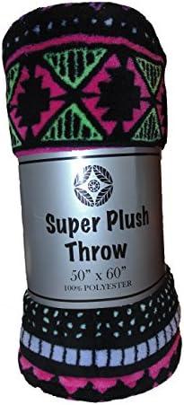 Cozy Fleece Plush Blanket Throw