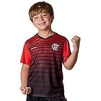 d3eca1e7c89e4 Camisa Flamengo Infantil Strike Braziline