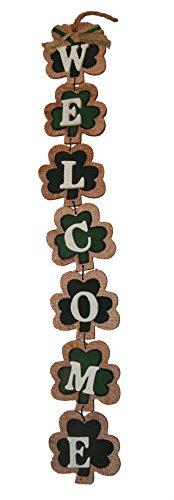 Wooden St Patrick's Clover
