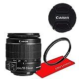 Canon EF-S 18-55mm f/3.5-5.6 IS II SLR Lens AL'S VARIETY Premium Lens Bundle