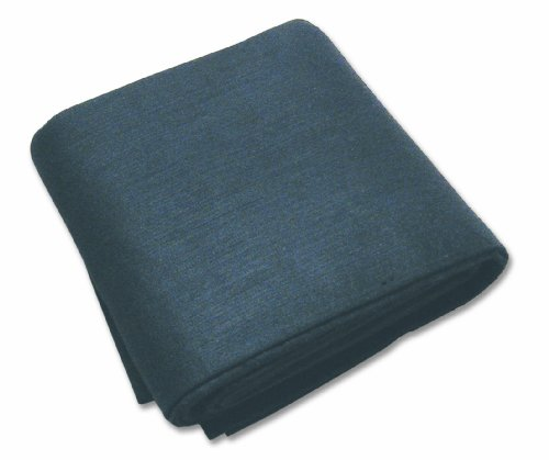 Sellstrom S97456 Soft Shield Carbon Fiber Felt, High Temperature Fire Blanket (3,000 Deg F) with Red Steel Storage Cabinet, 6